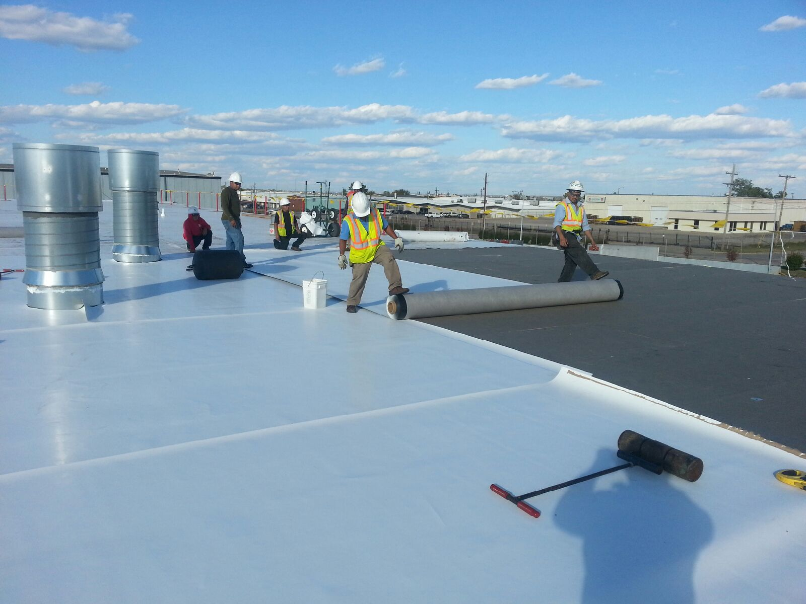 Commercial Roofing – Elastomeric Roof Coatings